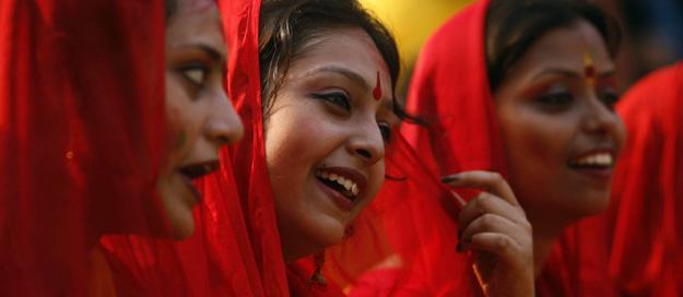 niña india